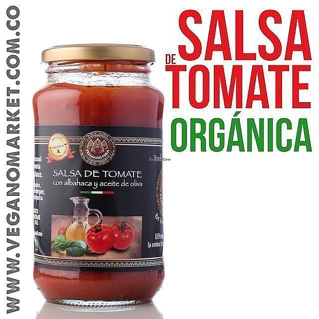 "Photo of Vegano Market  by <a href=""/members/profile/lafresita"">lafresita</a> <br/>Salsa de tomate organica <br/> July 2, 2017  - <a href='/contact/abuse/image/87082/276054'>Report</a>"