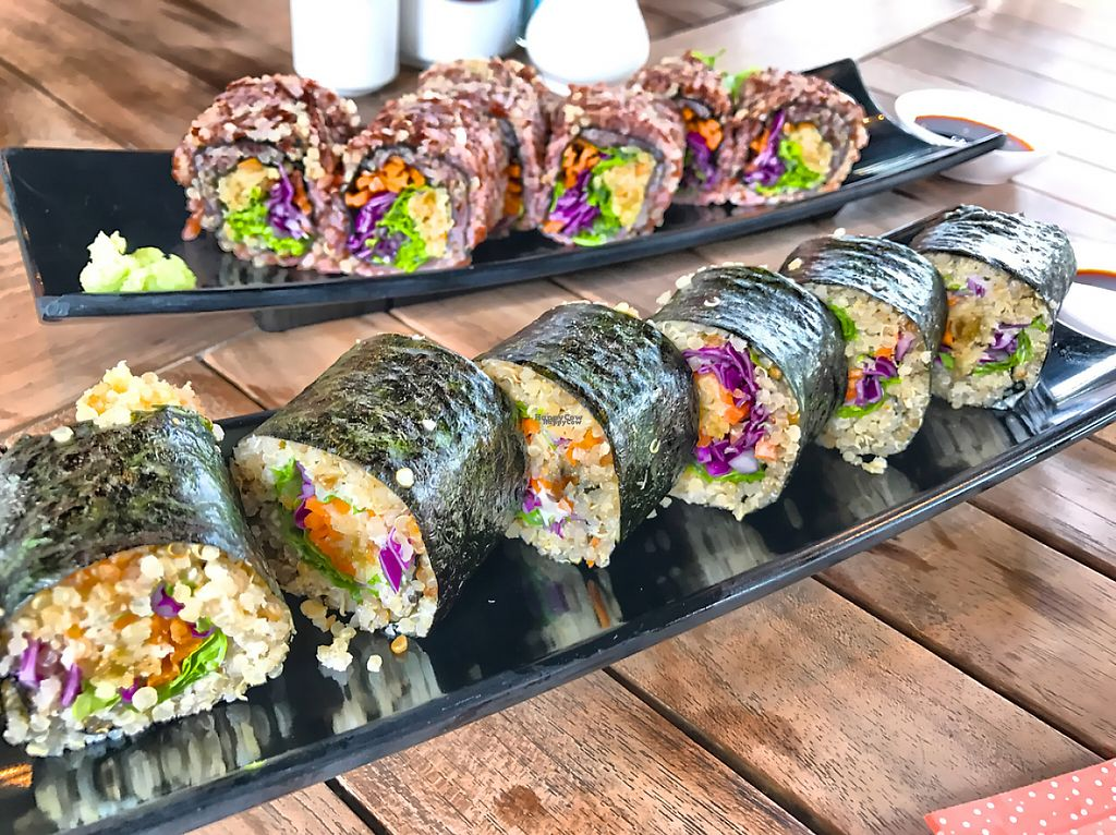 """Photo of O-OH Farm Suanluang  by <a href=""""/members/profile/SoniaGivray"""">SoniaGivray</a> <br/>sushi Quinoa, the best! <br/> February 14, 2017  - <a href='/contact/abuse/image/87103/226396'>Report</a>"""