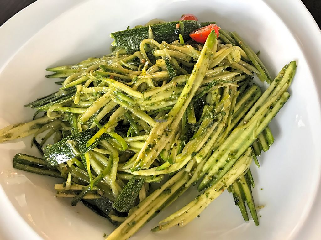 """Photo of O-OH Farm Suanluang  by <a href=""""/members/profile/SoniaGivray"""">SoniaGivray</a> <br/>Raw Pesto Zukini ? Pasta <br/> February 14, 2017  - <a href='/contact/abuse/image/87103/226416'>Report</a>"""
