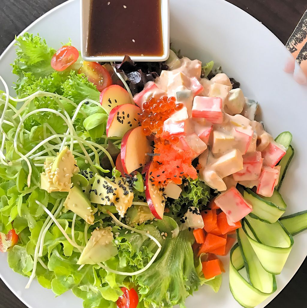 """Photo of O-OH Farm Suanluang  by <a href=""""/members/profile/SoniaGivray"""">SoniaGivray</a> <br/>Avicato ? salad ?  <br/> February 14, 2017  - <a href='/contact/abuse/image/87103/226418'>Report</a>"""