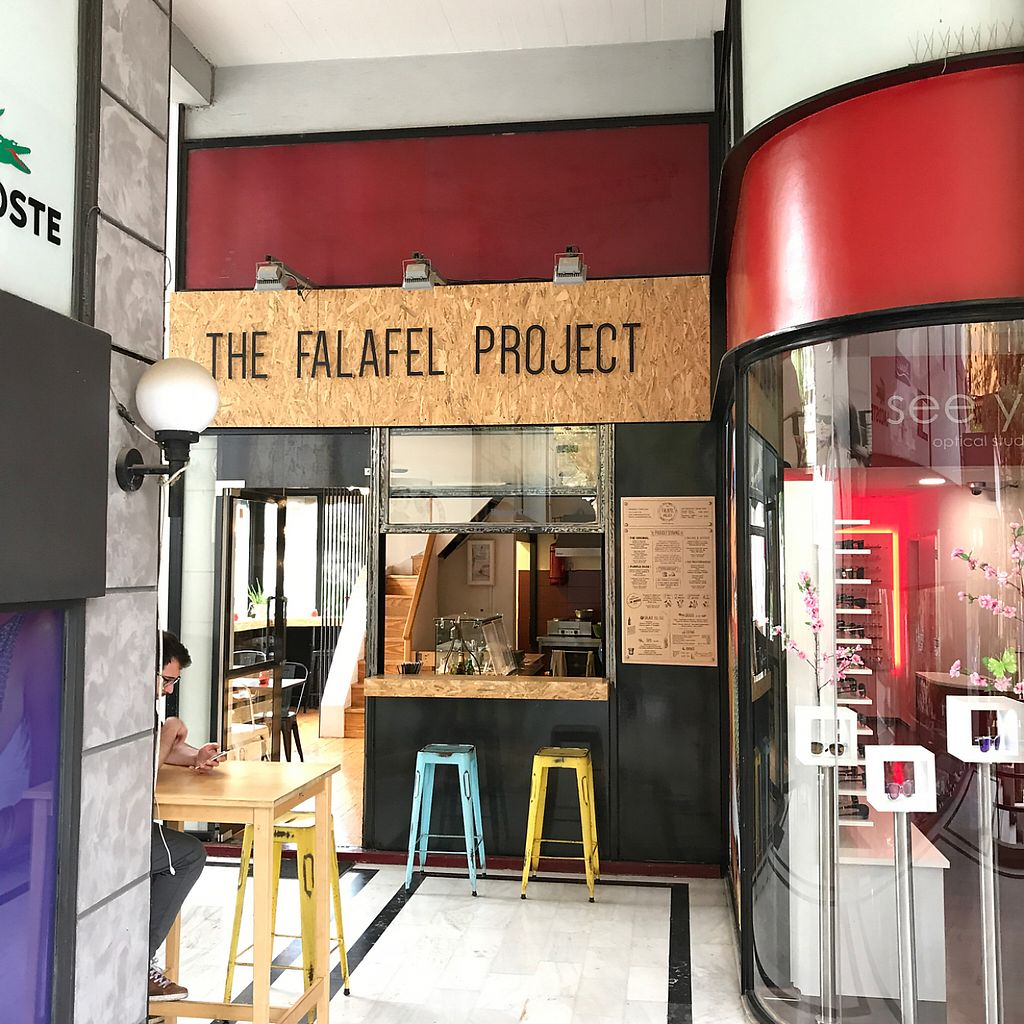 """Photo of The Falafel Project  by <a href=""""/members/profile/earthville"""">earthville</a> <br/>from outside <br/> May 12, 2017  - <a href='/contact/abuse/image/87118/258039'>Report</a>"""