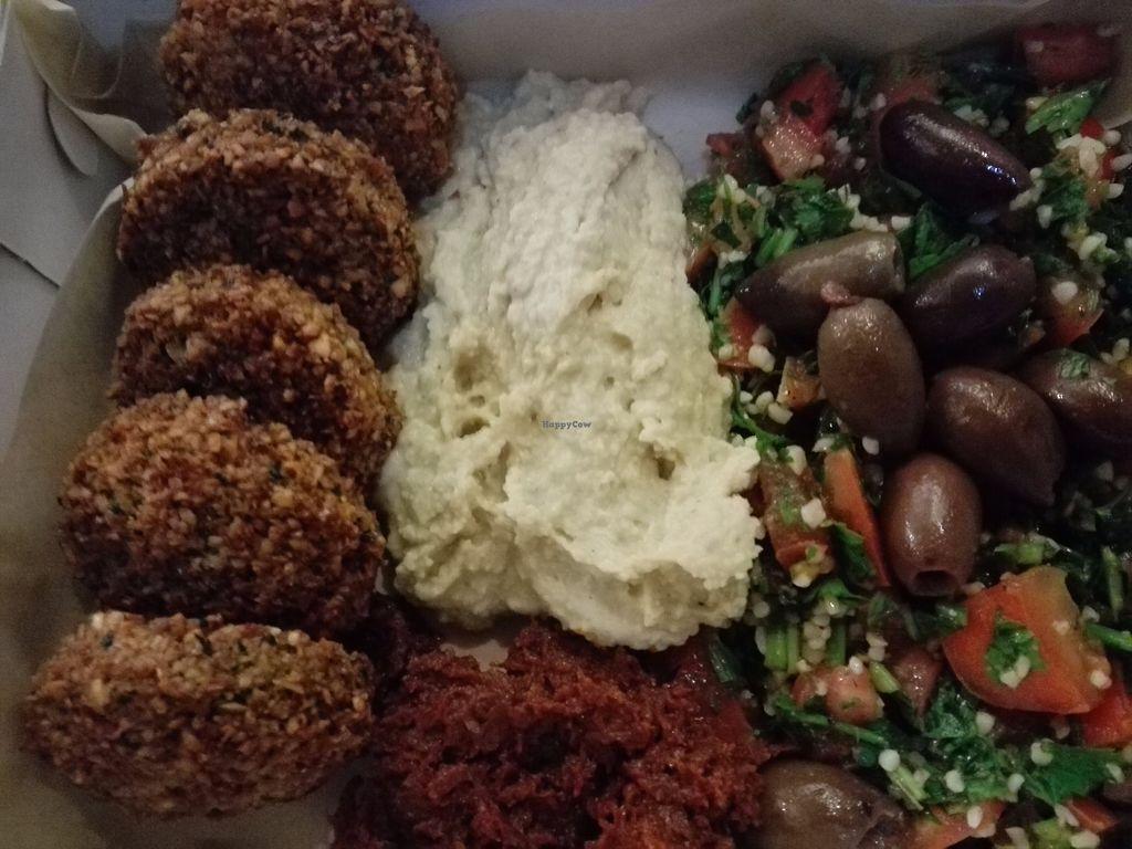 "Photo of The Falafel Project  by <a href=""/members/profile/ElisaGR"">ElisaGR</a> <br/>Mediterranean falafel.    <br/> October 15, 2017  - <a href='/contact/abuse/image/87118/315325'>Report</a>"