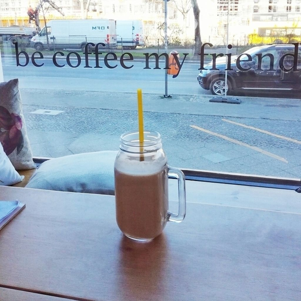"""Photo of Be Coffee My Friend  by <a href=""""/members/profile/NicseARTh"""">NicseARTh</a> <br/>chocolate peanut butter smoothie <br/> March 27, 2017  - <a href='/contact/abuse/image/87120/241753'>Report</a>"""