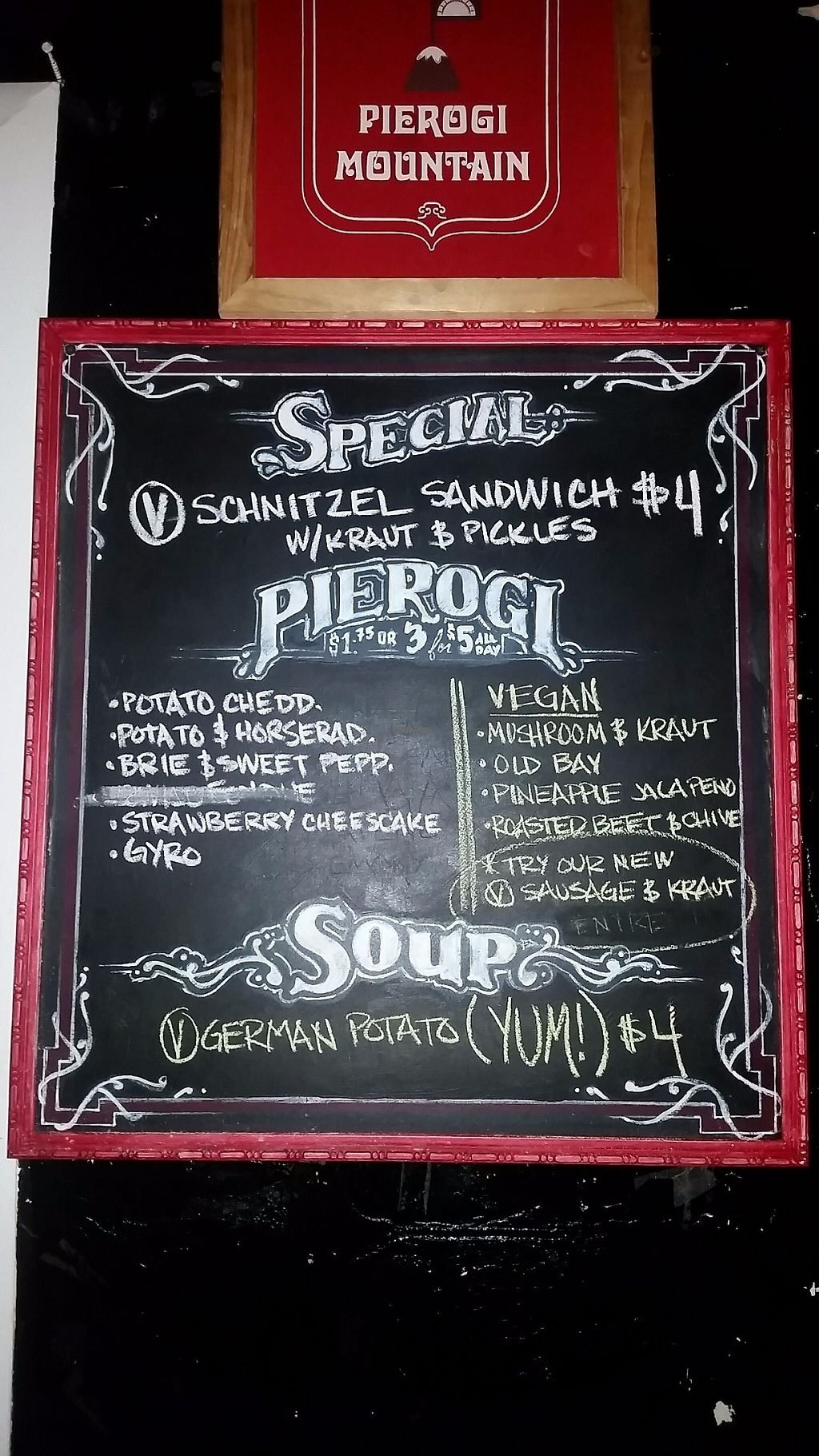 """Photo of Pierogi Mountain  by <a href=""""/members/profile/CorissaMarie"""">CorissaMarie</a> <br/>Labels vegan <br/> February 13, 2017  - <a href='/contact/abuse/image/87122/226329'>Report</a>"""
