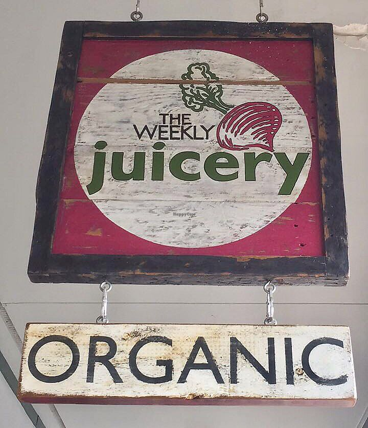 "Photo of The Weekly Juicery - Palomar Centre  by <a href=""/members/profile/happycowgirl"">happycowgirl</a> <br/>sign at entrance <br/> September 6, 2017  - <a href='/contact/abuse/image/87128/301546'>Report</a>"