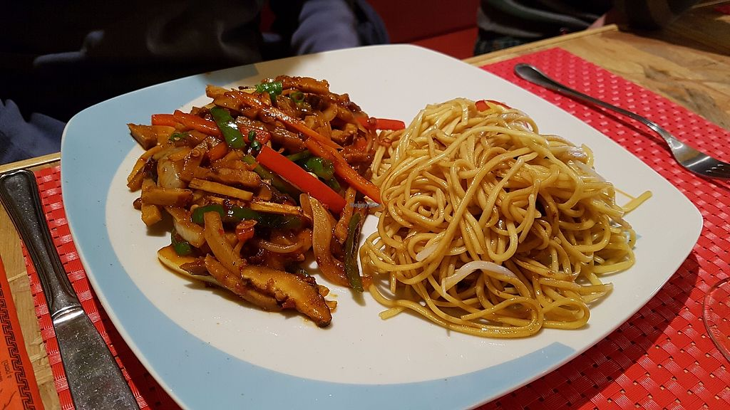 "Photo of CLOSED: Healthy Lovers  by <a href=""/members/profile/JonJon"">JonJon</a> <br/>Noodle and seitan <br/> November 5, 2017  - <a href='/contact/abuse/image/87135/322035'>Report</a>"