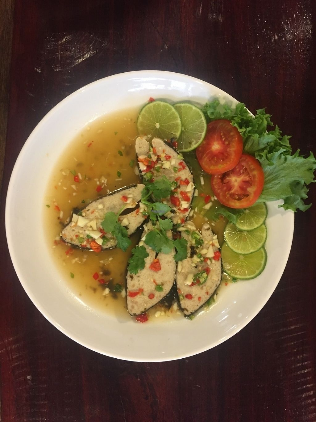 "Photo of Yo Green Restaurant  by <a href=""/members/profile/YoGreenRestaurant"">YoGreenRestaurant</a> <br/>Mock fish from soya <br/> February 26, 2017  - <a href='/contact/abuse/image/87150/230794'>Report</a>"