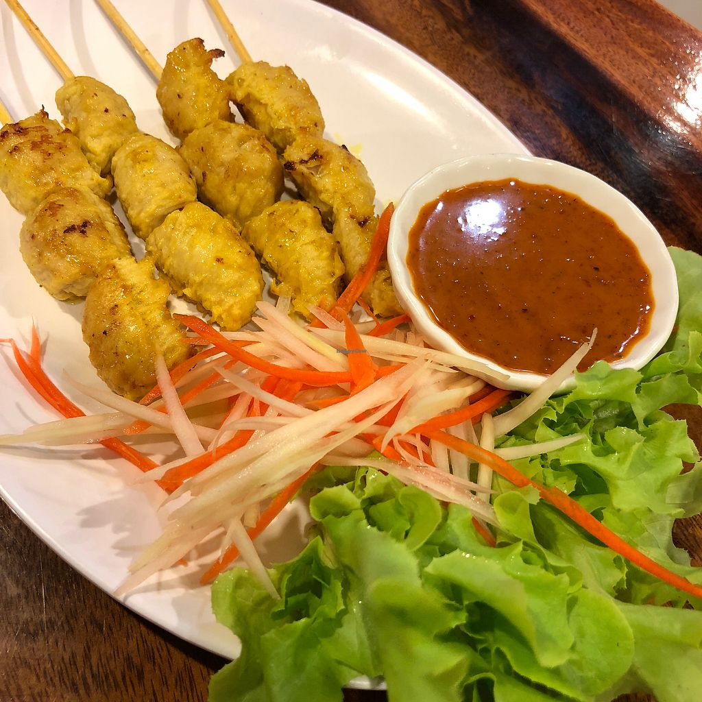 "Photo of Yo Green Restaurant  by <a href=""/members/profile/earthville"">earthville</a> <br/>Satay <br/> February 21, 2018  - <a href='/contact/abuse/image/87150/361905'>Report</a>"