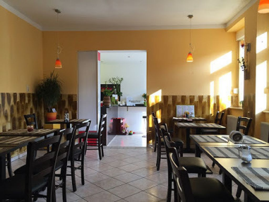 """Photo of Vegan Express  by <a href=""""/members/profile/ViolaceousViolin"""">ViolaceousViolin</a> <br/>Inside view <br/> February 15, 2017  - <a href='/contact/abuse/image/87168/226839'>Report</a>"""