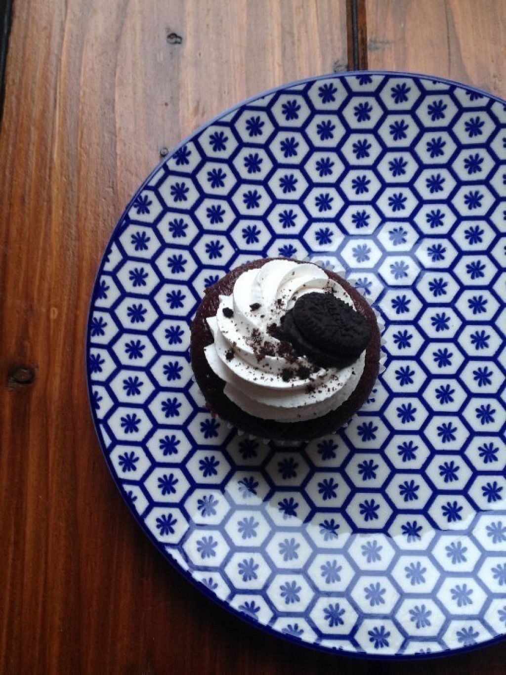 """Photo of Marshalls Mum  by <a href=""""/members/profile/ViolaceousViolin"""">ViolaceousViolin</a> <br/>Vegan Cookies&Cream Cupcake <br/> February 14, 2017  - <a href='/contact/abuse/image/87169/226547'>Report</a>"""