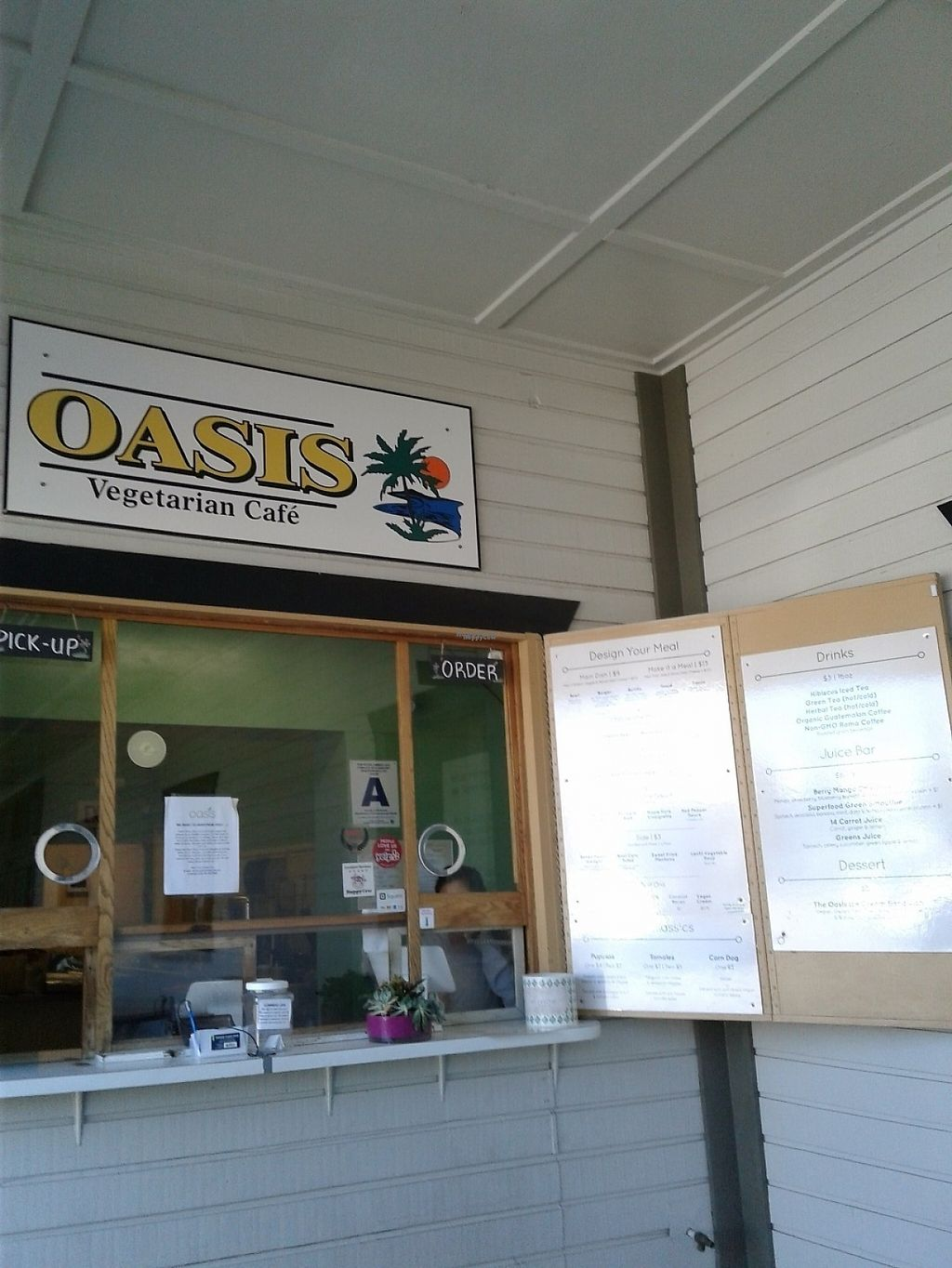 "Photo of Oasis Vegetarian Cafe  by <a href=""/members/profile/anastronomy"">anastronomy</a> <br/>Tasty vegan food <br/> March 28, 2017  - <a href='/contact/abuse/image/8716/242151'>Report</a>"