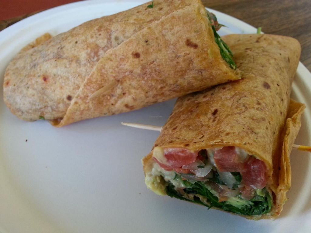 "Photo of Oasis Vegetarian Cafe  by <a href=""/members/profile/eric"">eric</a> <br/>avocado wrap <br/> January 17, 2014  - <a href='/contact/abuse/image/8716/62656'>Report</a>"