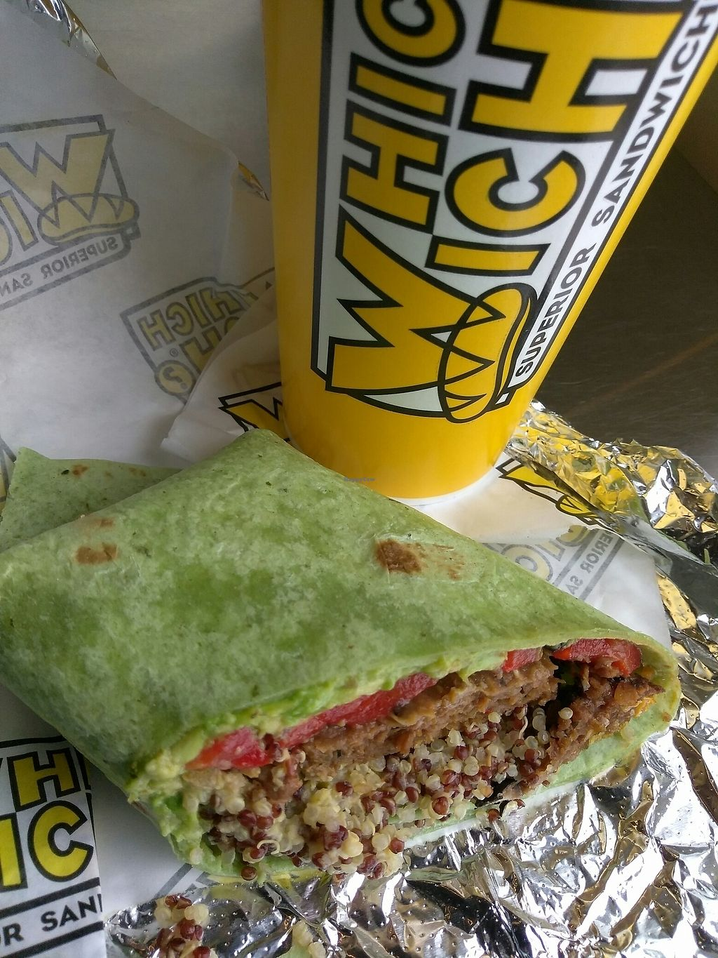 "Photo of Which Wich  by <a href=""/members/profile/Tonydetra"">Tonydetra</a> <br/>Superfood Wich (vegan) <br/> August 12, 2017  - <a href='/contact/abuse/image/87180/292126'>Report</a>"
