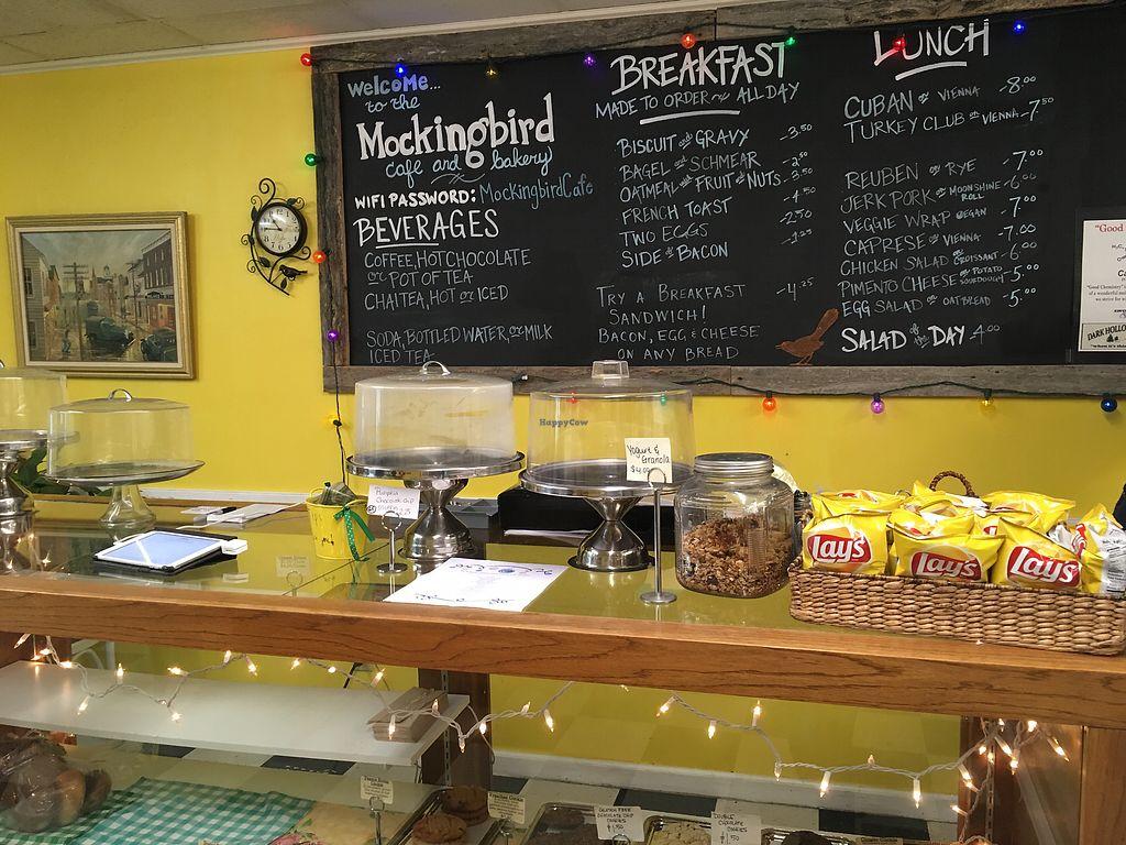 "Photo of Mockingbird Cafe & Bakery  by <a href=""/members/profile/sayork"">sayork</a> <br/>menu  <br/> November 7, 2017  - <a href='/contact/abuse/image/87185/322984'>Report</a>"