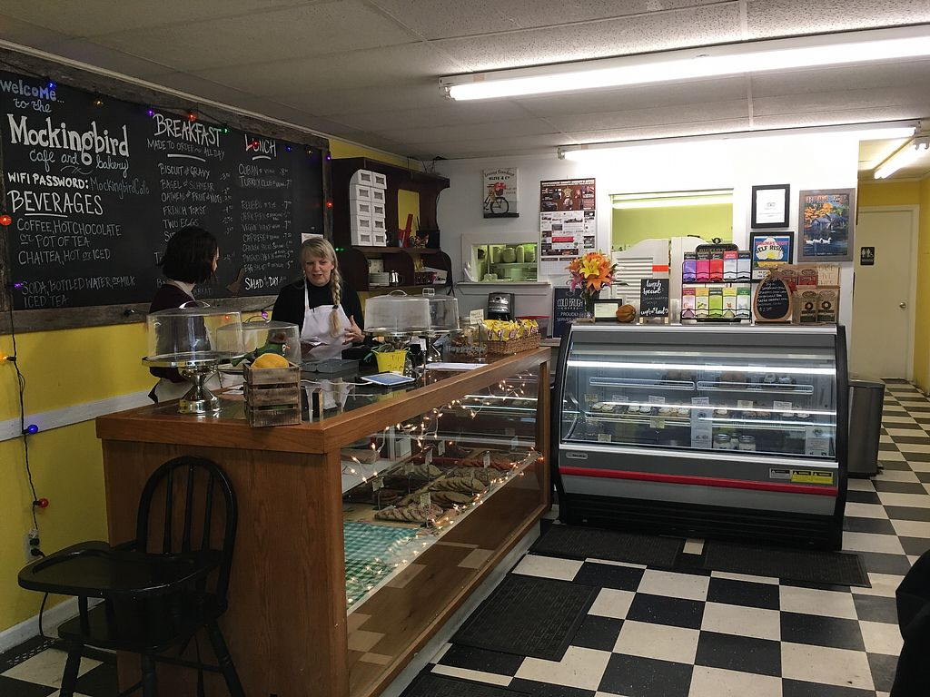 """Photo of Mockingbird Cafe & Bakery  by <a href=""""/members/profile/sayork"""">sayork</a> <br/>bakery cases <br/> November 7, 2017  - <a href='/contact/abuse/image/87185/322989'>Report</a>"""