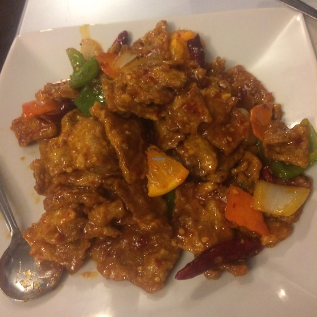 "Photo of Hong Kong Chop Suey  by <a href=""/members/profile/glassesgirl79"">glassesgirl79</a> <br/>Vegetarian orange chicken  <br/> February 15, 2017  - <a href='/contact/abuse/image/87187/226750'>Report</a>"
