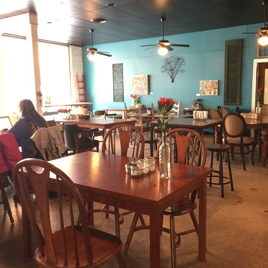 """Photo of NewFound Gathering Place and Eatery  by <a href=""""/members/profile/ToastedCoconut"""">ToastedCoconut</a> <br/>Nice decor  <br/> March 31, 2017  - <a href='/contact/abuse/image/87197/243106'>Report</a>"""