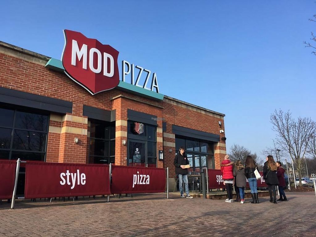 """Photo of Mod Pizza - Cardigan Fields  by <a href=""""/members/profile/NicMOD"""">NicMOD</a> <br/>Sunny Day!  <br/> February 15, 2017  - <a href='/contact/abuse/image/87200/226844'>Report</a>"""