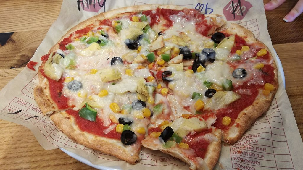 """Photo of Mod Pizza  by <a href=""""/members/profile/AmyVCaroline"""">AmyVCaroline</a> <br/>My tasty pizza <br/> July 19, 2017  - <a href='/contact/abuse/image/87201/282241'>Report</a>"""