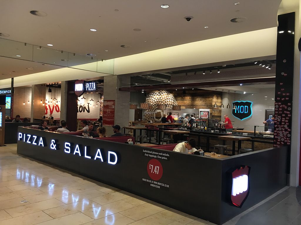 """Photo of Mod Pizza  by <a href=""""/members/profile/hack_man"""">hack_man</a> <br/>Outside  <br/> September 1, 2017  - <a href='/contact/abuse/image/87204/299787'>Report</a>"""