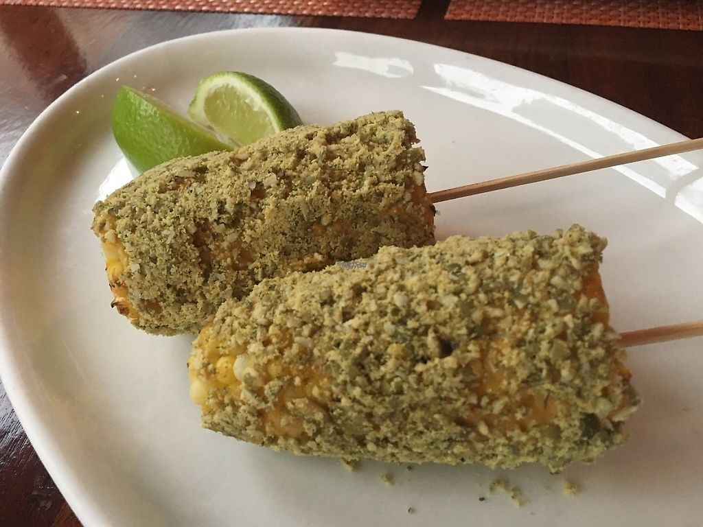 """Photo of Cafe Frida  by <a href=""""/members/profile/Kiki%20The%20Silly%20Vegan"""">Kiki The Silly Vegan</a> <br/>Hemp seed corn <br/> February 16, 2017  - <a href='/contact/abuse/image/87215/227117'>Report</a>"""