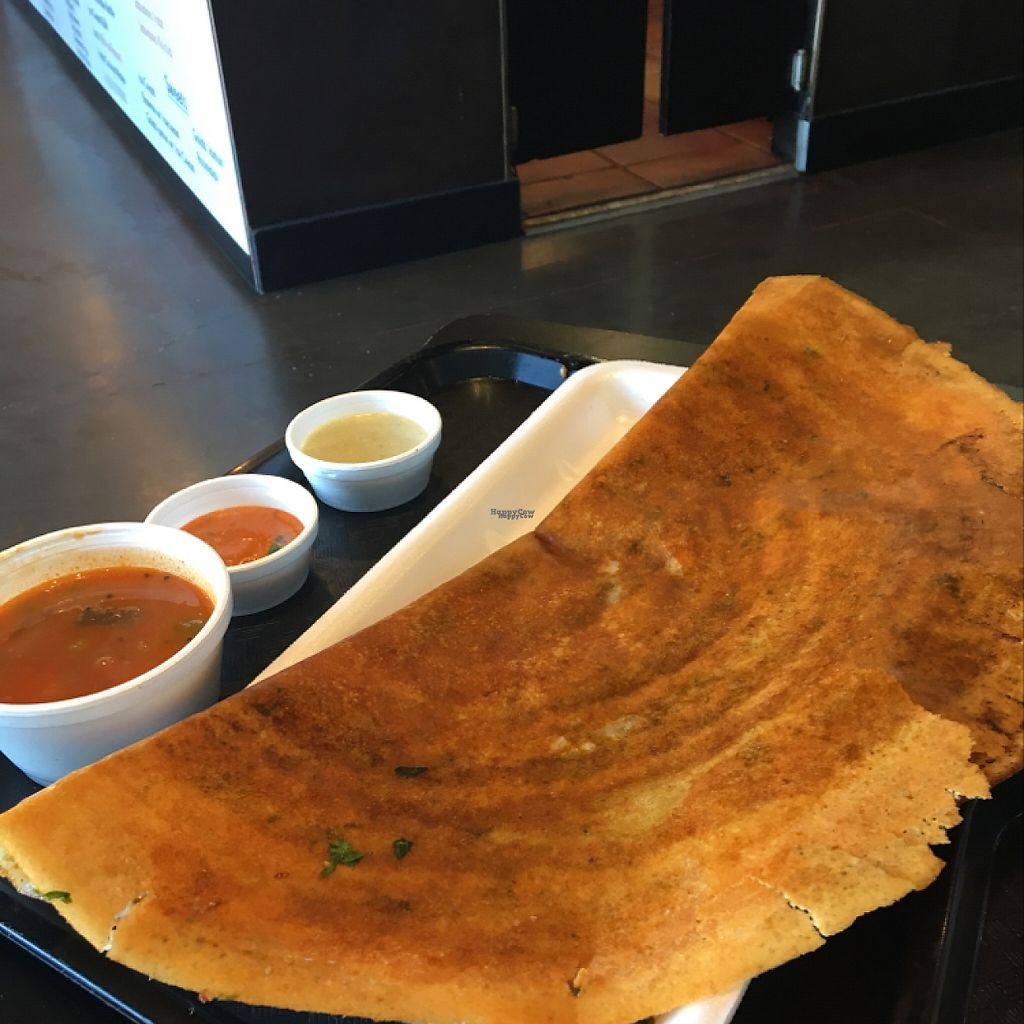 "Photo of Bombay Chowpatty  by <a href=""/members/profile/aner1kind17"">aner1kind17</a> <br/>veg Manchurian dosa  <br/> March 31, 2017  - <a href='/contact/abuse/image/87236/243163'>Report</a>"