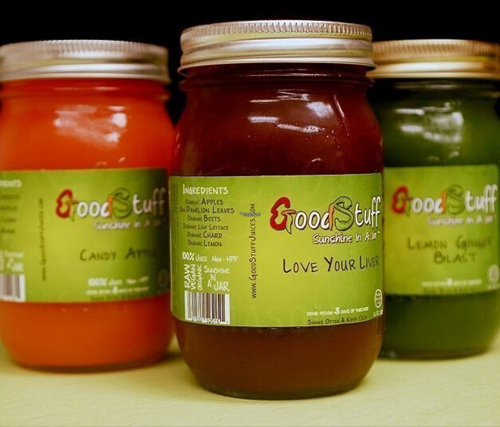"""Photo of GoodStuff Juices  by <a href=""""/members/profile/community"""">community</a> <br/>GoodStuff Juices <br/> February 16, 2017  - <a href='/contact/abuse/image/87247/227070'>Report</a>"""