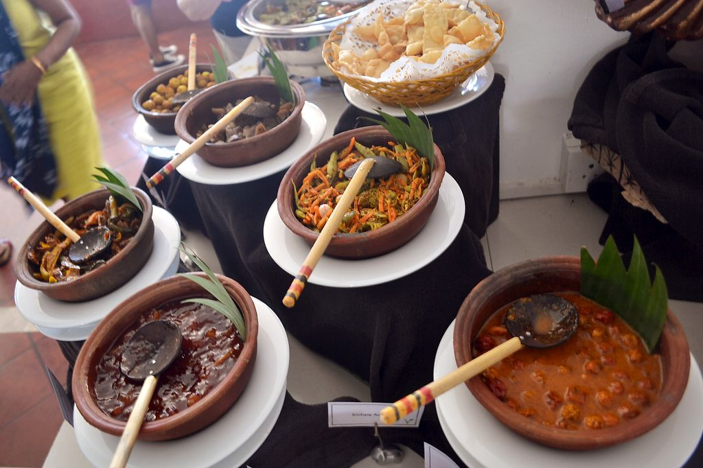 "Photo of The Poya Day Vegan Buffet  by <a href=""/members/profile/Chalice777"">Chalice777</a> <br/>Curries! <br/> October 18, 2017  - <a href='/contact/abuse/image/87263/316261'>Report</a>"