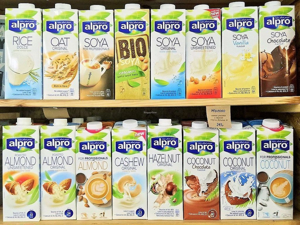 "Photo of B12 Vegan Shop  by <a href=""/members/profile/NeilM"">NeilM</a> <br/>alpro milk <br/> April 12, 2018  - <a href='/contact/abuse/image/87274/384588'>Report</a>"