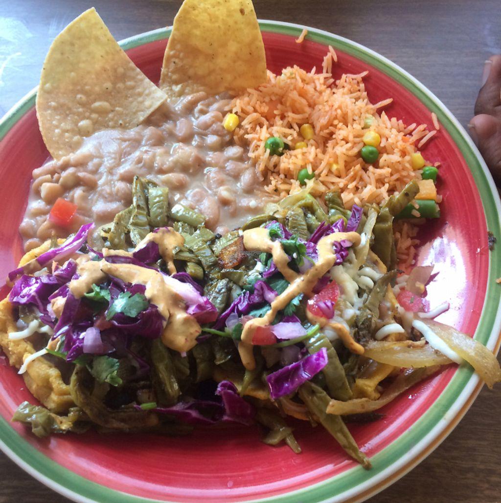 "Photo of La Charrita Mexican Restaurant  by <a href=""/members/profile/glassesgirl79"">glassesgirl79</a> <br/>Vegan sopas  <br/> April 9, 2017  - <a href='/contact/abuse/image/87279/246526'>Report</a>"