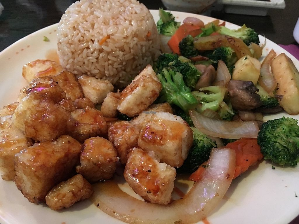 """Photo of Grace Japanese Sushi  by <a href=""""/members/profile/KWdaddio"""">KWdaddio</a> <br/>Vegetable Hibachi with Tempura Tofu <br/> February 16, 2017  - <a href='/contact/abuse/image/87285/227164'>Report</a>"""