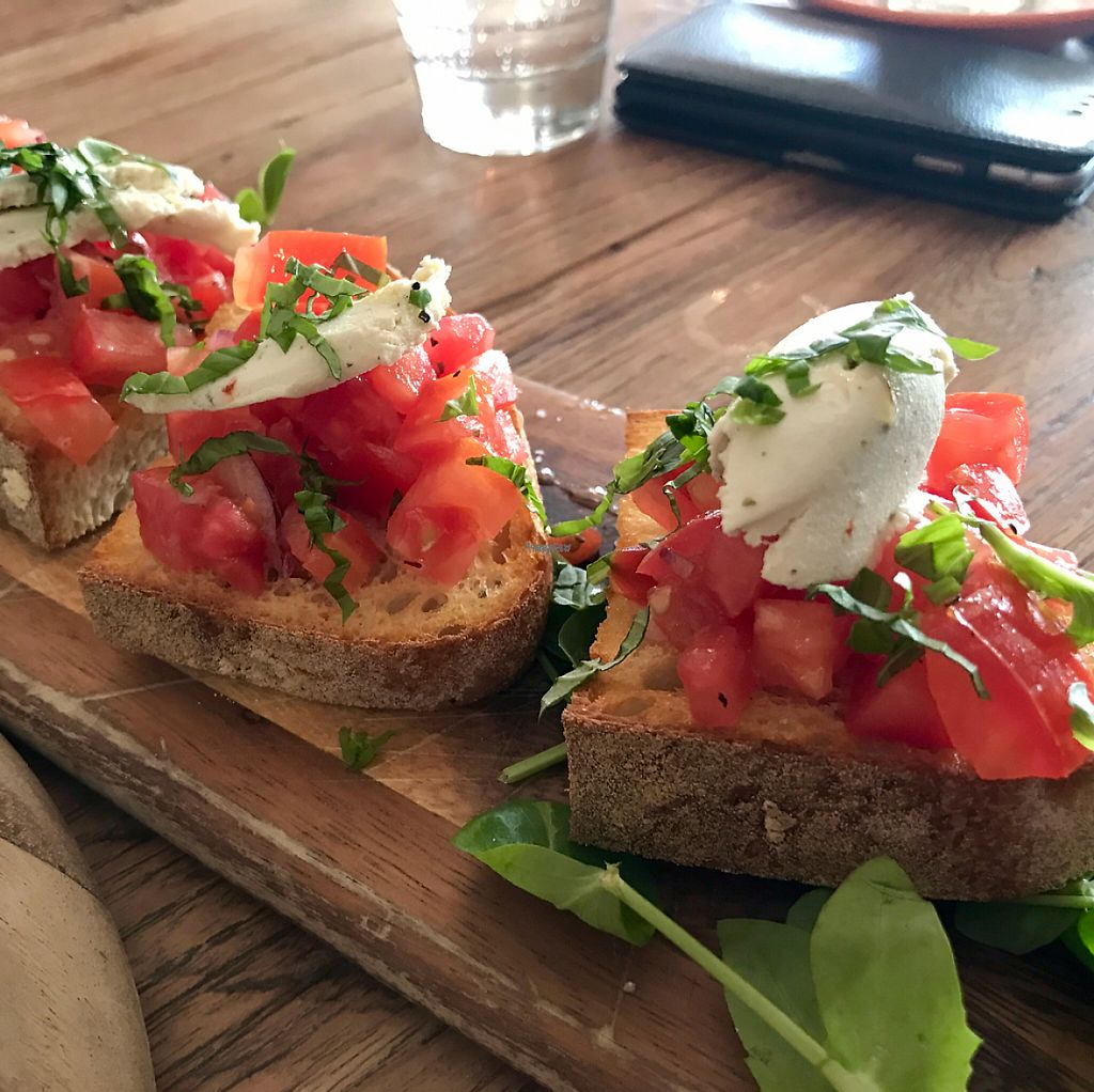"Photo of Assaggini Mornington  by <a href=""/members/profile/NatalieDowelMcIntosh"">NatalieDowelMcIntosh</a> <br/>Bruschetta <br/> April 6, 2017  - <a href='/contact/abuse/image/87304/245204'>Report</a>"