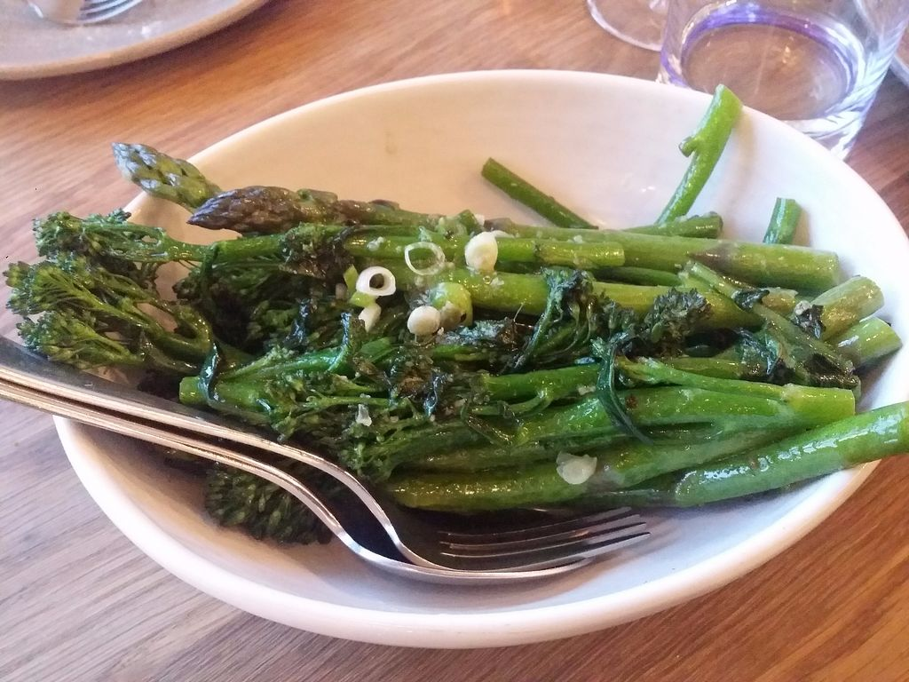 "Photo of Assaggini Mornington  by <a href=""/members/profile/ericacrombie"">ericacrombie</a> <br/>This was sauteed broccolini and asparagus with garlic. I can't remember the price but it was about $13-14 <br/> October 8, 2017  - <a href='/contact/abuse/image/87304/313137'>Report</a>"