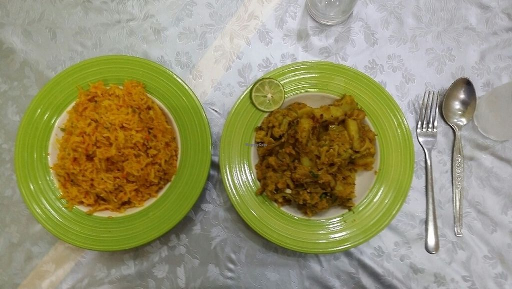 """Photo of Al Reem  by <a href=""""/members/profile/Mike%20Munsie"""">Mike Munsie</a> <br/>vegie rice and potato curry <br/> June 5, 2017  - <a href='/contact/abuse/image/87307/266009'>Report</a>"""
