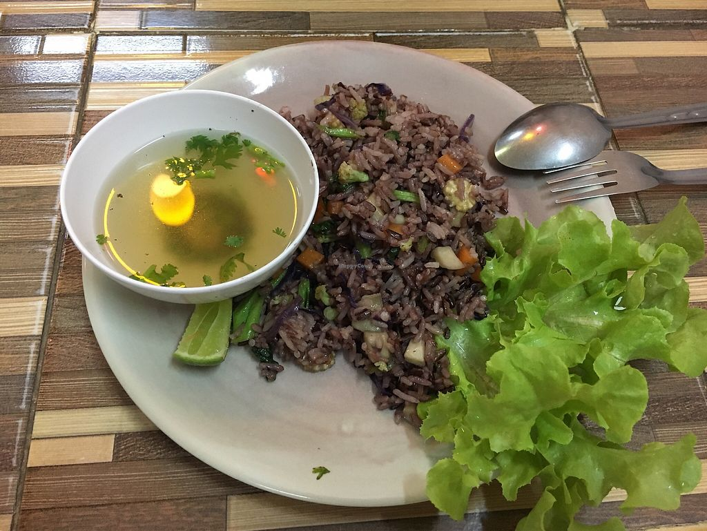 """Photo of Bee Vegan  by <a href=""""/members/profile/veganMade"""">veganMade</a> <br/>Fired Rice with 4 vegetables  <br/> October 2, 2017  - <a href='/contact/abuse/image/87311/311000'>Report</a>"""