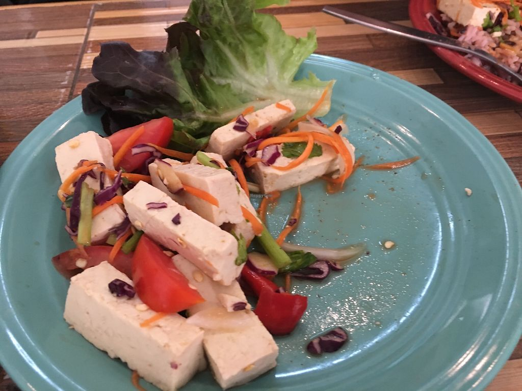 """Photo of Bee Vegan  by <a href=""""/members/profile/vagabonding2018"""">vagabonding2018</a> <br/>Tofu Salad <br/> April 5, 2018  - <a href='/contact/abuse/image/87311/381211'>Report</a>"""