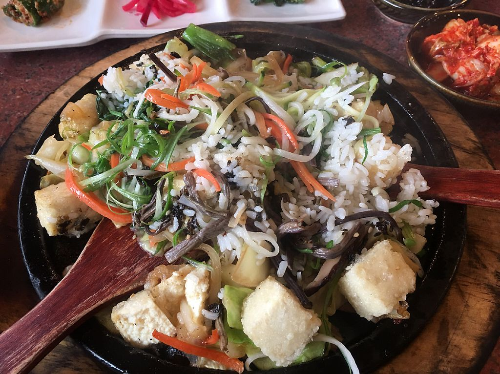 """Photo of Red Stone Tofu House  by <a href=""""/members/profile/DonHelling"""">DonHelling</a> <br/>hot stone Tofu dish  <br/> February 18, 2017  - <a href='/contact/abuse/image/87319/227765'>Report</a>"""