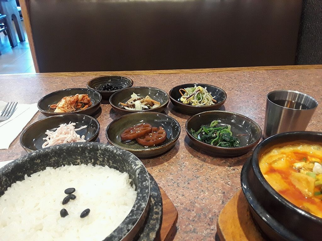 """Photo of Red Stone Tofu House  by <a href=""""/members/profile/PamiM"""">PamiM</a> <br/>My Lunch <br/> October 5, 2017  - <a href='/contact/abuse/image/87319/312106'>Report</a>"""