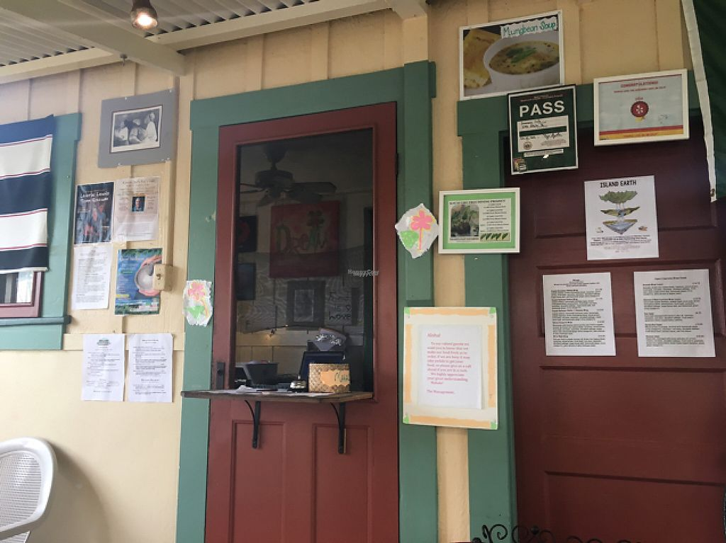 """Photo of The Greenery Cafe  by <a href=""""/members/profile/sarahveg"""">sarahveg</a> <br/>Cafe window. seating is covered and not covered.  <br/> February 19, 2017  - <a href='/contact/abuse/image/87327/228355'>Report</a>"""