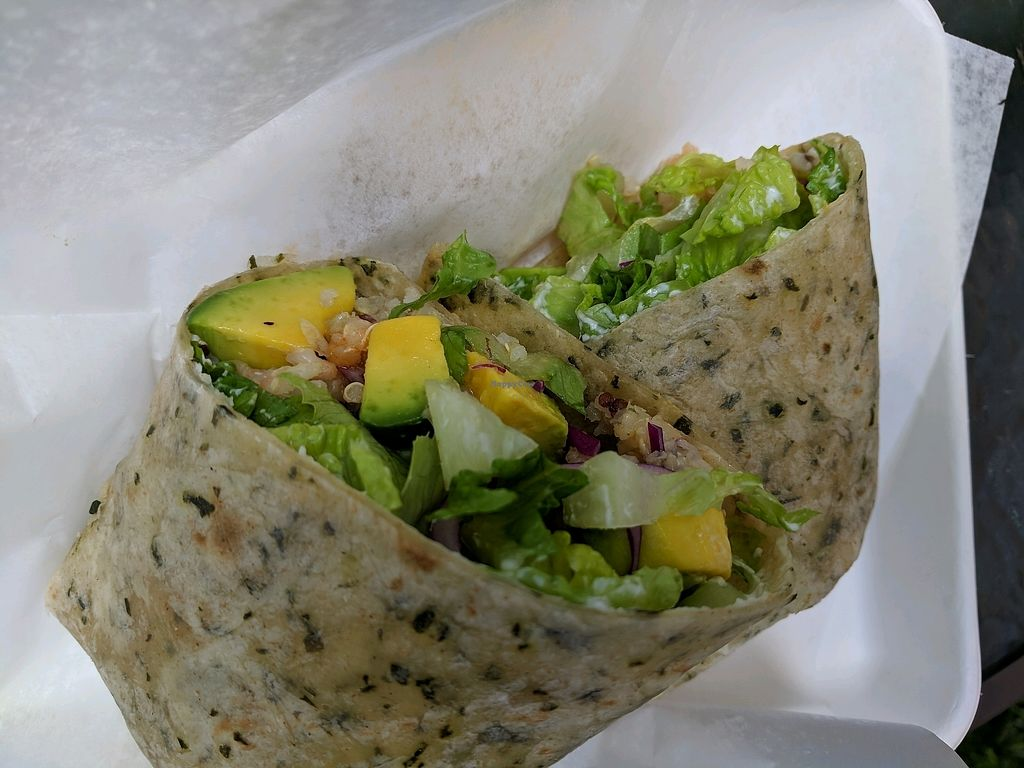 """Photo of The Greenery Cafe  by <a href=""""/members/profile/spalan"""">spalan</a> <br/>Avacado wrap <br/> November 17, 2017  - <a href='/contact/abuse/image/87327/326344'>Report</a>"""