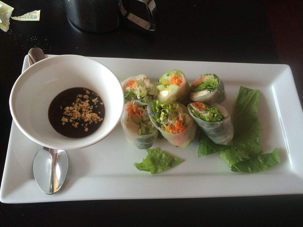 """Photo of Simply Thai  by <a href=""""/members/profile/LeslieLinder"""">LeslieLinder</a> <br/>fresh spring rolls with tofu <br/> March 16, 2017  - <a href='/contact/abuse/image/87329/237021'>Report</a>"""