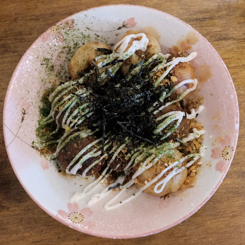 """Photo of Tian Zhi Yu - Heaven Driven Vegan  by <a href=""""/members/profile/HaileyPoLa"""">HaileyPoLa</a> <br/>vegan takoyaki  <br/> July 5, 2017  - <a href='/contact/abuse/image/87346/276877'>Report</a>"""