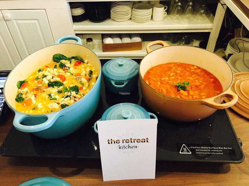 "Photo of Retreat Kitchen  by <a href=""/members/profile/DavidBarrett"">DavidBarrett</a> <br/>Tofu Scramble and BBQ Beans  <br/> February 18, 2017  - <a href='/contact/abuse/image/87349/227949'>Report</a>"
