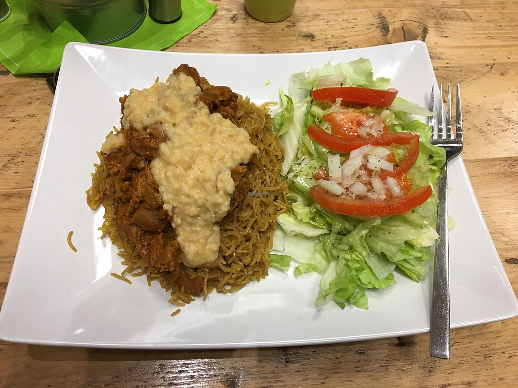 "Photo of Veggie's  by <a href=""/members/profile/Tremonia"">Tremonia</a> <br/>Saffron rice with seitan <br/> March 16, 2018  - <a href='/contact/abuse/image/87350/371341'>Report</a>"