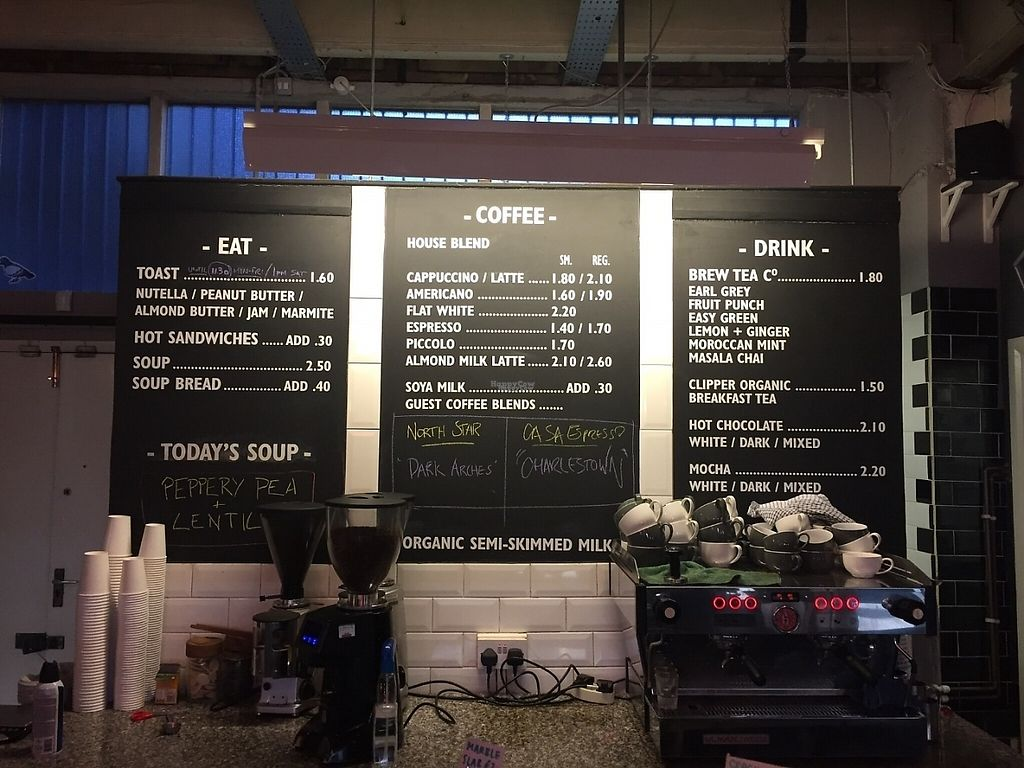 """Photo of Cafe 164  by <a href=""""/members/profile/StevieSurf"""">StevieSurf</a> <br/>Menu <br/> February 23, 2017  - <a href='/contact/abuse/image/87361/229777'>Report</a>"""