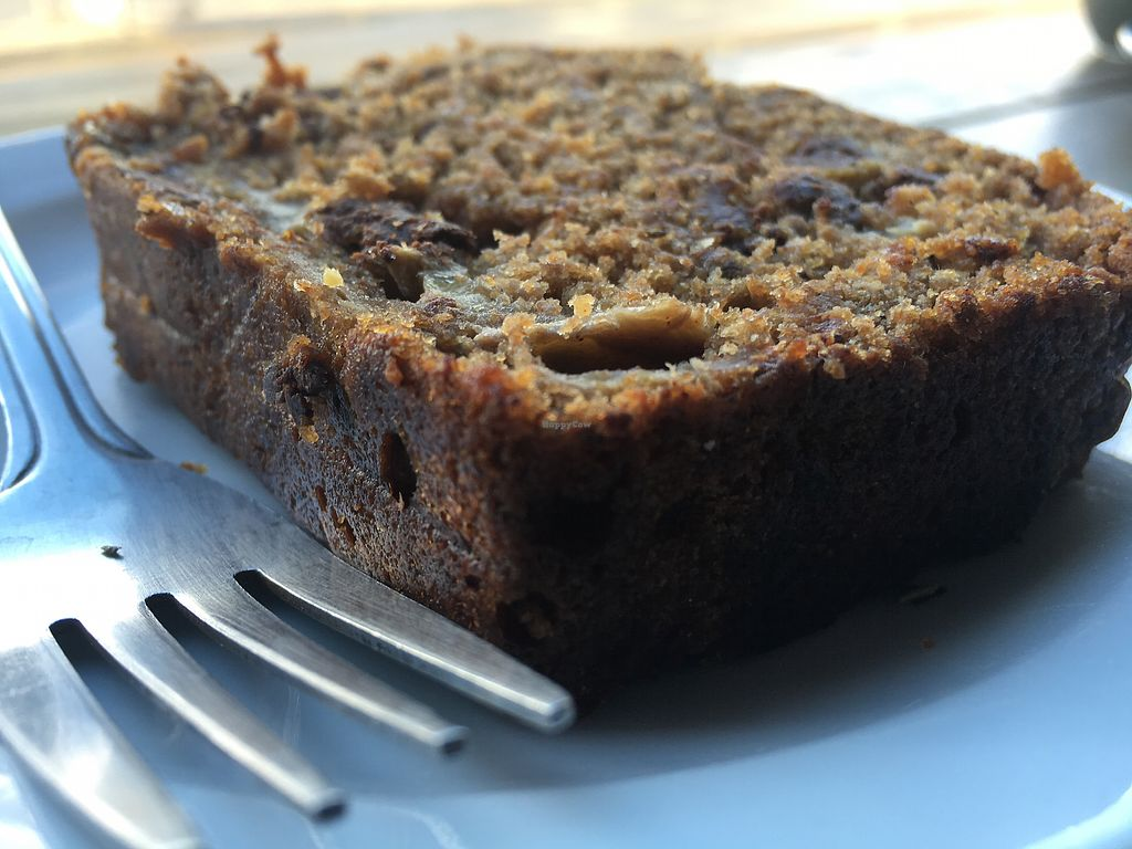 """Photo of Cafe 164  by <a href=""""/members/profile/hack_man"""">hack_man</a> <br/>Choc & banana loaf - vegan  <br/> December 16, 2017  - <a href='/contact/abuse/image/87361/336119'>Report</a>"""