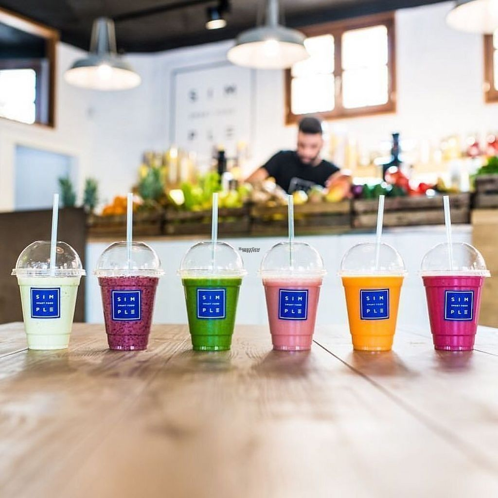 """Photo of Simple - Smart Food Bar  by <a href=""""/members/profile/MMaree"""">MMaree</a> <br/>Smoothies and juices.  (Photo: Simple's Facebook-page) <br/> February 18, 2017  - <a href='/contact/abuse/image/87378/228003'>Report</a>"""