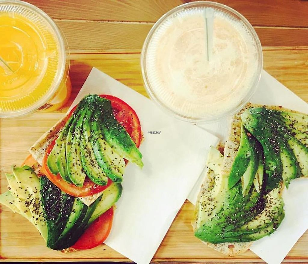 """Photo of Simple - Smart Food Bar  by <a href=""""/members/profile/MMaree"""">MMaree</a> <br/>Avocado toast (with a good amount of avocado :) ) (Photo: Simple's Facebook-page) <br/> February 18, 2017  - <a href='/contact/abuse/image/87378/228006'>Report</a>"""