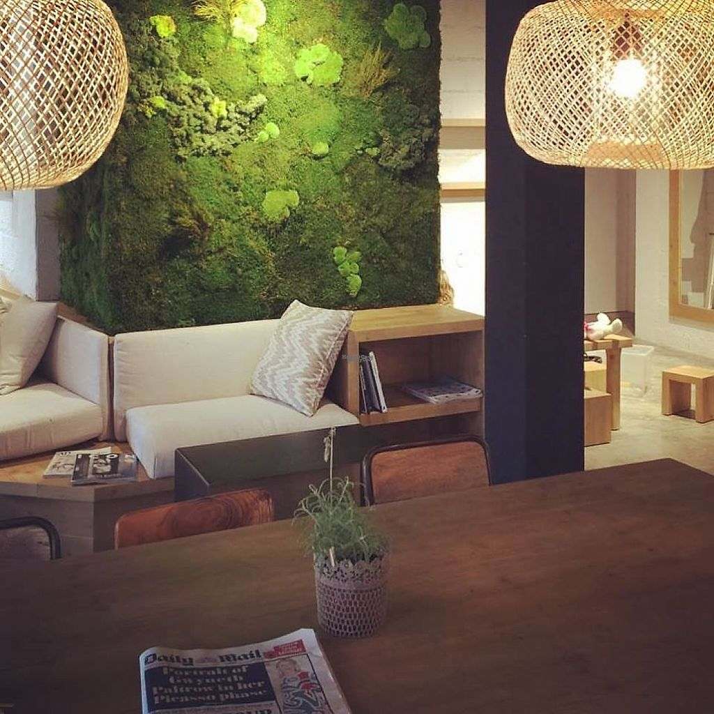 """Photo of Simple - Smart Food Bar  by <a href=""""/members/profile/MMaree"""">MMaree</a> <br/>Nice and modern interior with moss-wall. Fits the upcoming neighborhood perfectly.  (Photo: Simple's Facebook-page) <br/> February 18, 2017  - <a href='/contact/abuse/image/87378/228011'>Report</a>"""