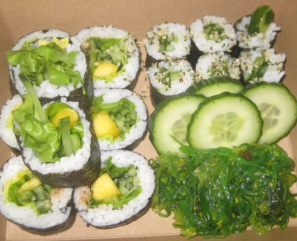 "Photo of Sushi V Dushi  by <a href=""/members/profile/jennyc32"">jennyc32</a> <br/>Vegan sushi <br/> February 20, 2017  - <a href='/contact/abuse/image/87428/237531'>Report</a>"